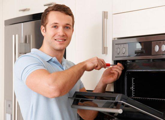 Built in oven repair man
