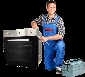 Electric oven repair man